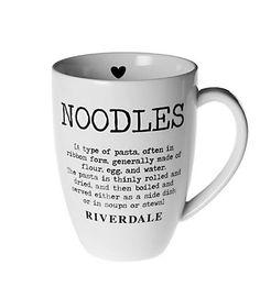 Noodles dictionary mug