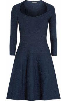 Zac Posen Matelassé stretch-knit dress | THE OUTNET