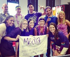 Our media department dominated in last week's flip cup tournament. Nicely done, team!