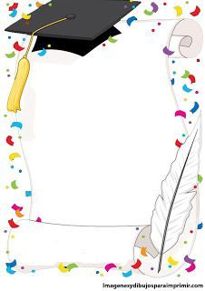 kindergarten graduation design for progress report Graduation Clip Art, Kindergarten Graduation, Graduation Cards, School Border, Boarders And Frames, School Frame, Page Borders, Borders For Paper, Paper Frames