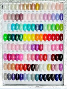 Professional Hot sales 120 pcs Fashion Colorful nail polish nail art for nails Soak Off Gel Nails, Uv Gel Nails, Acrylic Nails, Shellac, New Nail Polish, Nail Polish Colors, Acrylic Nail Supplies, Nails At Home, French Tip Nails