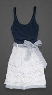 To cute Abercrombie dress!