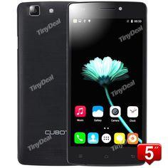 "CUBOT X12 5\"" IPS MTK6735M Quad-core 64-bit Android 5.1 4G LTE Phone 8MP CAM 1GB RAM 8GB ROM OTG Wifi Hotspot P05-CUX12"