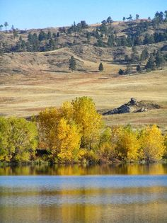 Western Nebraska in the fall - Fort Robinson area  #nebraska #western #fort robinson