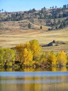 Western Nebraska in the fall - Fort Robinson area