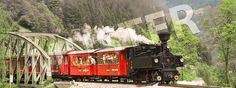 The Zillertalbahn, a narrow-gauge railway dating back to 1902 which offers a… Heritage Train, Tirol Austria, Steam Railway, Train Journey, Steam Locomotive, Alps, Places To Visit, Tours, Mountains