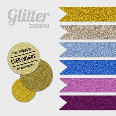 Free Glitter Textures