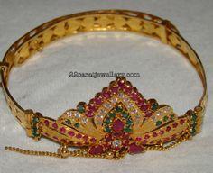 Jewellery Designs: My Baby Gold Vanki(armlet)