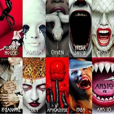 Coven, Apocalypse, American Horror Story, Deadpool, Creepy, Superhero, Ahs, Poster, Fictional Characters
