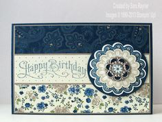 A Quintessential Paper Dolls Birthday card | Sara's crafting and stamping studio