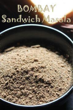 YUMMY TUMMY: Bombay Sandwich Masala Recipe / Sandwich Masala Powder Recipe