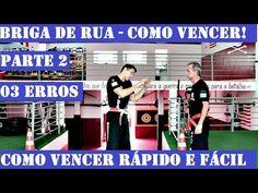 BRIGA DE RUA parte 02 - os 03 erros mais graves -aprenda se defender - Krav Maga - defesa pessoal - YouTube