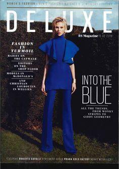 cover design | Gucci Cover - Es Magazine UK, February 2013
