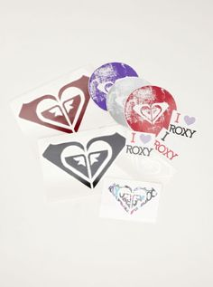Razzle me sticker pack from #roxy $10.00