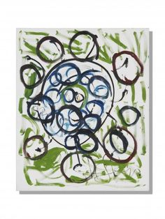 WALTER ARNOLD STEFFEN (1924 - 1982) ST 21 (1982) Öl und schwarzer Stift auf Leinwand H 100 cm. B 81 cm.   Provenienz: Schweizer Privatsammlung.  Signiert und datiert. Modern, Contemporary Art, Contemporary Artwork, Swiss Guard, Auction, Canvas, Modern Art