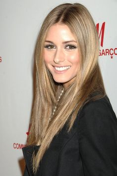 Olivia Palermo .. like this hair color