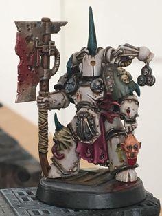 Chaos Marine poseía torso bits 40K a