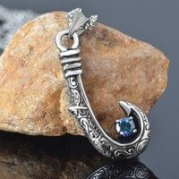 Maui hook keychain disney moana moana shop pinterest for Fish urn necklace
