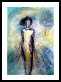 Kresba tušom, akvarel a kvaš