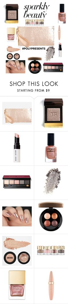 """""""#PolyPresents: Sparkly Beauty"""" by jlars12 ❤ liked on Polyvore featuring beauty, Ashley Stewart, Tom Ford, Bobbi Brown Cosmetics, Cirque Colors, MAC Cosmetics, Smith & Cult, Maybelline, contestentry and polyPresents"""