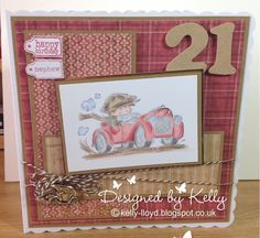 LOTV - Toot Toot with Country Gent Paper Pad, Sentiment Tags and Family Sentiment Tags by Kelly Llloyd
