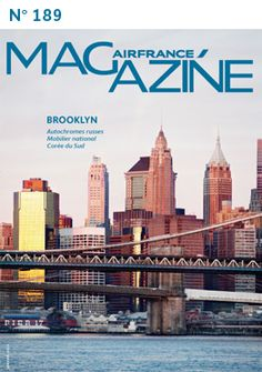 Air France Magazine - Brooklyn Bridge cover