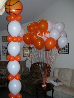 basketball party decorations ideas | Basketball Decorations