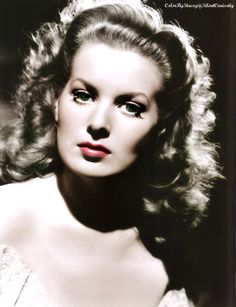 Maureen O'Hara - love her beauty and her accent and her common sense.