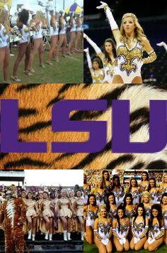 Louisiana State University (LSU) Golden Girls