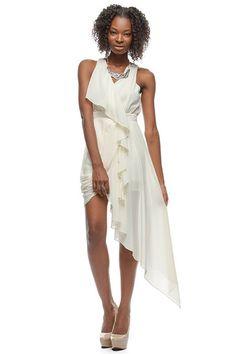 Catalina Cocktail Dress - Cream