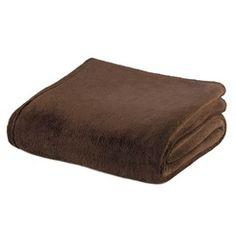 Dark Brown Fleece Blanket