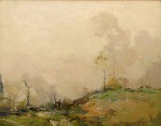Chauncey Ryder | Day in the Fog (1915)