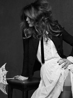 Vanessa Paradis for the Chanel Little Black Jacket Book 2012