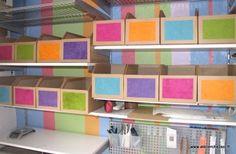 Tutoriel : des casiers de rangement en carton - Créer ses meubles en carton