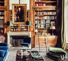 When Simon returns from San Francisco next week he'll have all the latest American shelter magazines in tow. I can't wait to dive into the latest issue of Architectural Digest which includes this stun