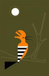 Hoopoe by Eleanor Grosch