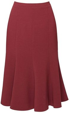 Lucy Wool Midi Skirt In Berry (XS) by Rumour London Rumour London – Lucy Wool Midirock In Berry Girly Outfits, Skirt Outfits, Dress Skirt, Fall Dresses, Casual Dresses, Fashion Dresses, Mode Swag, Midi Skater Skirt, Midi Skirts