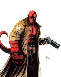 Hellboy (Dark Horse Comics, first appearance in 1993).