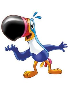 """Toucan Sam made his debut in 1963 on the box of Froot Loops cereal. His  snappy catch phrase is, """"follow my nose, it always knows,""""."""