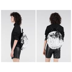SS18 Seasonal: Printed Alias | A seasonal addition to our premium Alias line; a non-conformist approach to luxury leather. Supple white cowhide is hand-painted with splashes of black, meaning each bag is one-of-a-kind. Line, Hand Painted, Seasons, Printed, Luxury, Bag, Leather, Instagram, Fashion