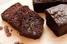 Chocolate Chocolate Chip Zucchini Bread and more recipes for healthy chocolate zucchini bread on MyNaturalFamily.com #zucchini #chocolate #bread #recipe