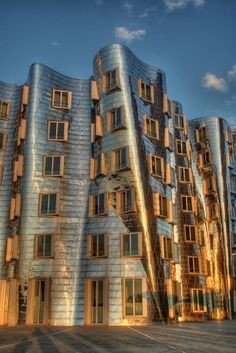 Frank Gehry building in Düsseldorf, Germany
