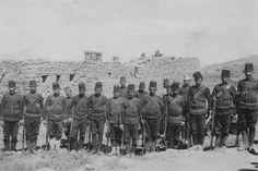 Ottoman Soldiers in Manakhah, Yemen (Yemen, Meneka'da Osmanlı Askerleri)