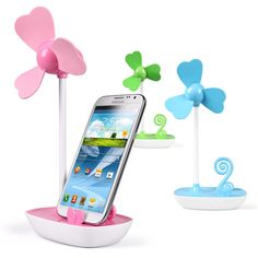 MS-153 electric gadget usb mini fan with phone holder.best promotional gift!