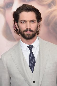 "NEW YORK, NY - APRIL 19: Actor Michiel Huisman attends ""The Age of Adaline"" premiere at AMC Loews Lincoln Square 13 theater on April 19, 2015 in New York City. (Photo by Jamie McCarthy/Getty Images) — a New York."
