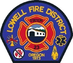 Lowell Rural Fire Protection District Logo