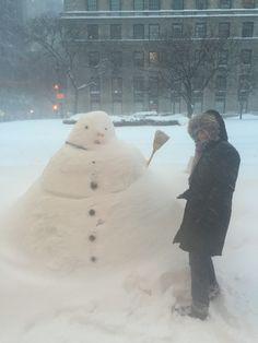 NYC January 2016 snowstorm