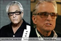 "Barry Weiss from ""Storage Wars"" Totally Looks Like Michael Douglas"