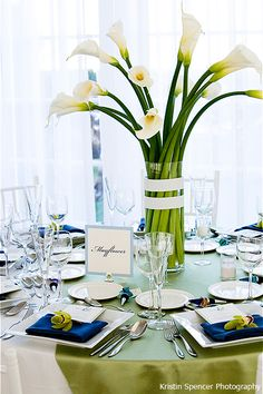 Calla lilies...simple and elegant!