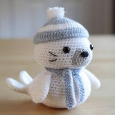 Amigurumi Seal - FREE Crochet Pattern / Tutorial